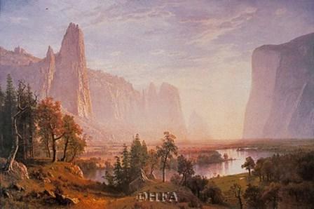 Yosemite Valley by Albert Bierstadt art print