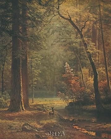 Dogwood by Albert Bierstadt art print