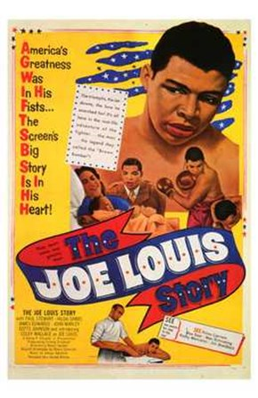 The Joe Louis Story art print