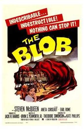 The Blob - vintage art print