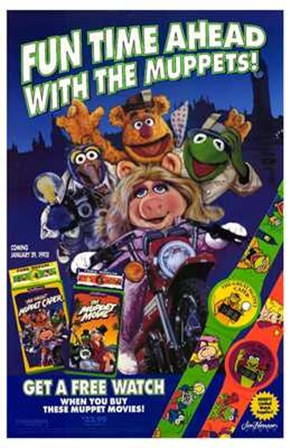 The Muppet Movie art print