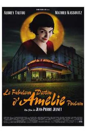 Amelie - Smiling art print