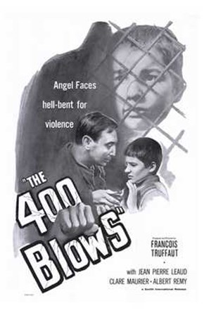 400 Blows - B&W art print
