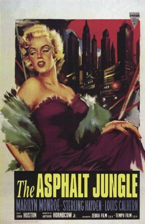 Asphalt Jungle, c.1950 - style A art print