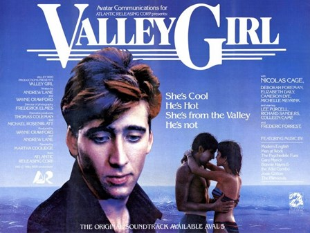 Valley Girl Nicolas Cage art print