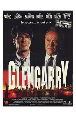 Glengarry Glen Ross - two men art print