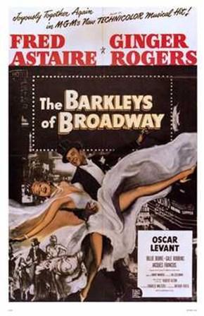 Barkleys of Broadway The art print