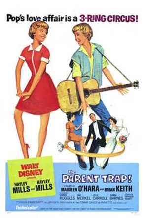 The Parent Trap - Walt Disney art print