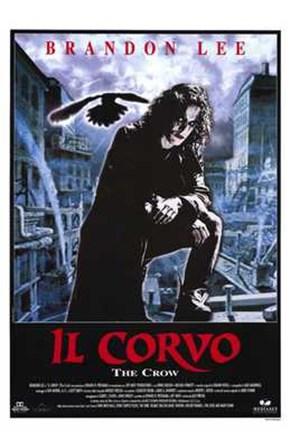 The Crow (spanish) art print