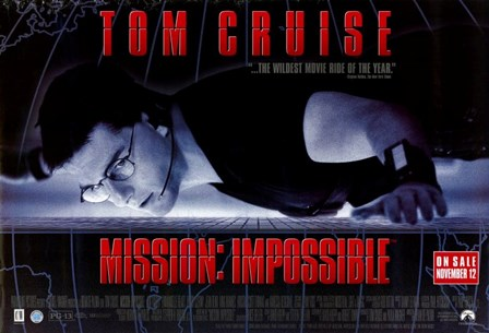 Mission: Impossible - wide art print