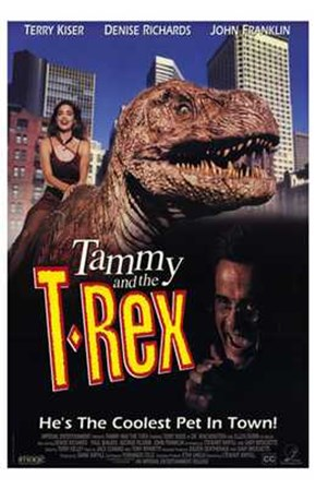 Tammy and the T-Rex art print
