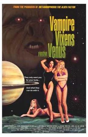 Vampire Vixens from Venus art print