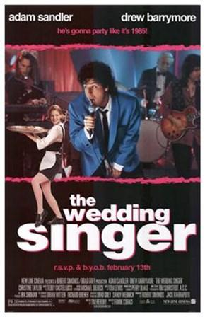 The Wedding Singer art print