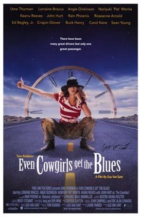 Even Cowgirls Get the Blues art print