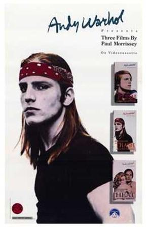 Paul Morrissey Trilogy art print