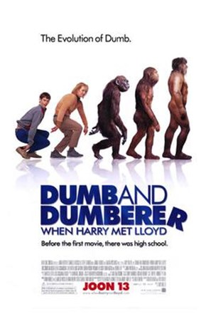Dumb and Dumberer: When Harry Met Lloyd art print
