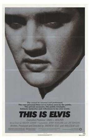 This is Elvis (movie poster) art print