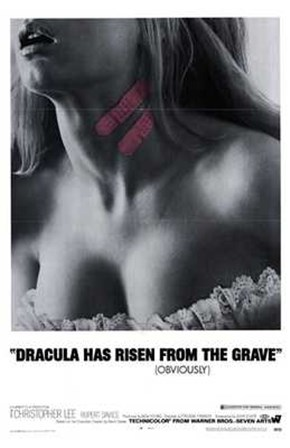 Dracula Has Risen from the Grave art print