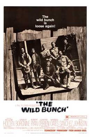 The Wild Bunch - B&W art print