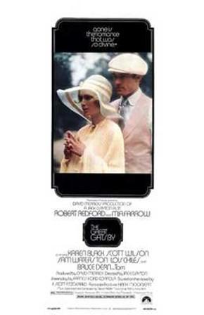The Great Gatsby Tall art print