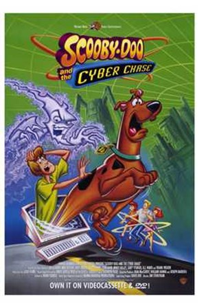 Scooby-Doo and the Cyber Chase art print