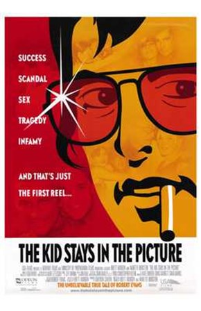 The Kid Stays in the Picture art print