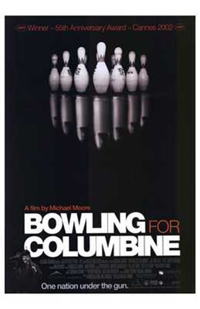 Bowling for Columbine Film art print