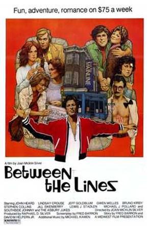 Between the Lines art print