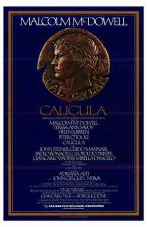 Caligula Coin art print