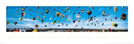 Albuquerque Balloon Festival by James Blakeway art print