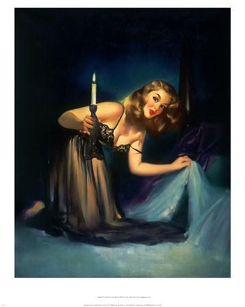 The Midnight Guest 1950 by Edward Runci art print