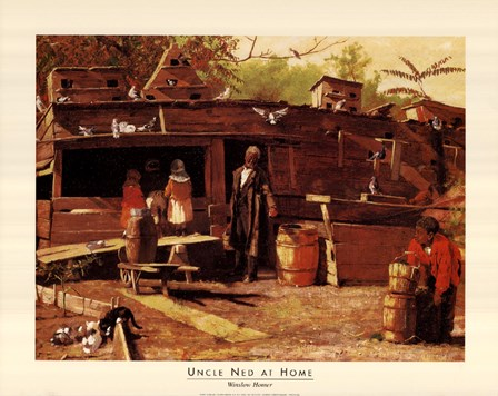 Uncle Ned at Home by Winslow Homer art print