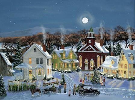 Oh Christmas Tree by Bob Fair art print