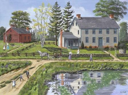 Reflection of Home by Bob Fair art print