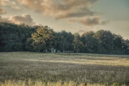 The Old Farm At Sunrise by Jai Johnson art print