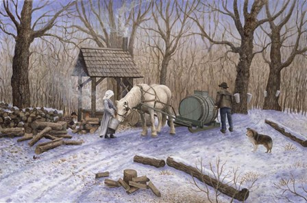 Maple Syrup Time by Kevin Dodds art print