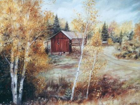 Autumn Colors Quadville On by Kevin Dodds art print