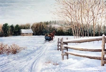 Homeward Bound by Kevin Dodds art print