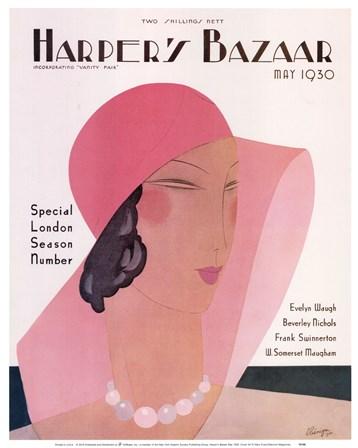 Harper's Bazaar May 1930 by National Magazines art print