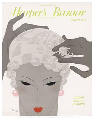 Harper's Bazaar March 1932 art print