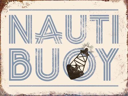 Nauti Buoy by J.J. Brando art print