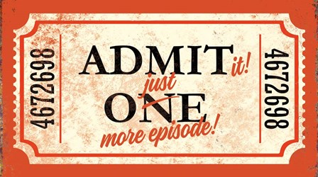 Admit It by J.J. Brando art print