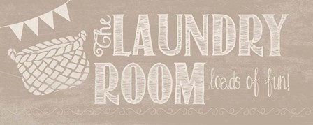 Laundry Room by Jo Moulton art print