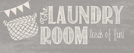Laundry Room II by Jo Moulton art print