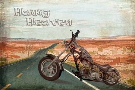 Hawg Heaven by Ramona Murdock art print