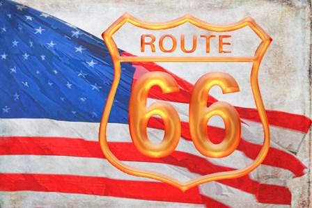 Route 66 by Ramona Murdock art print