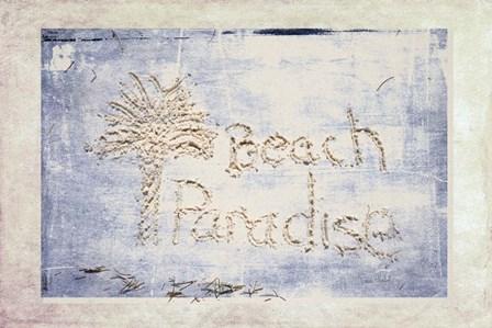 Beach Paradise by Ramona Murdock art print