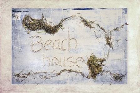 Beach House by Ramona Murdock art print