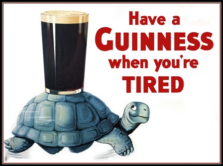 Have a Guinness by Vintage Lavoie art print
