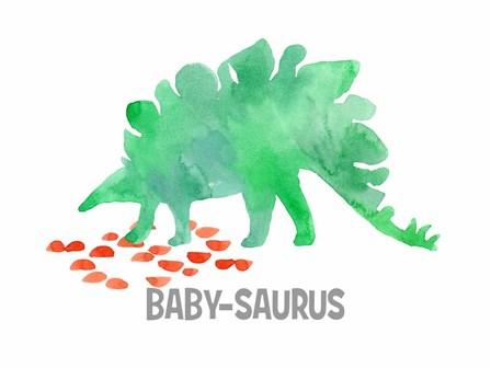 Babysaurus by Elise Engh art print